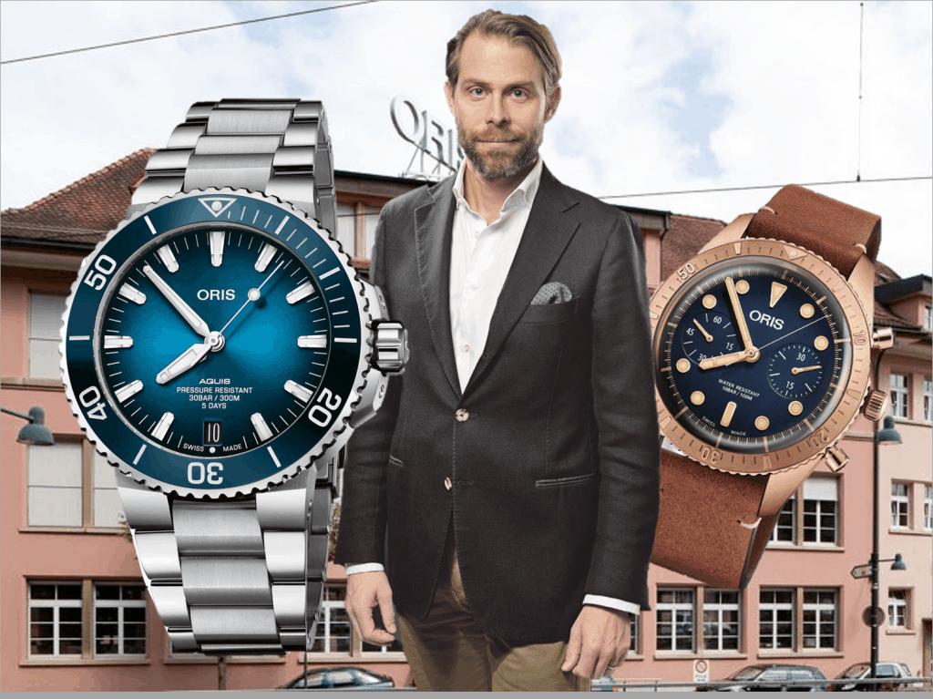 Rolf Studer Co-CEO der Uhrenmarke Oris