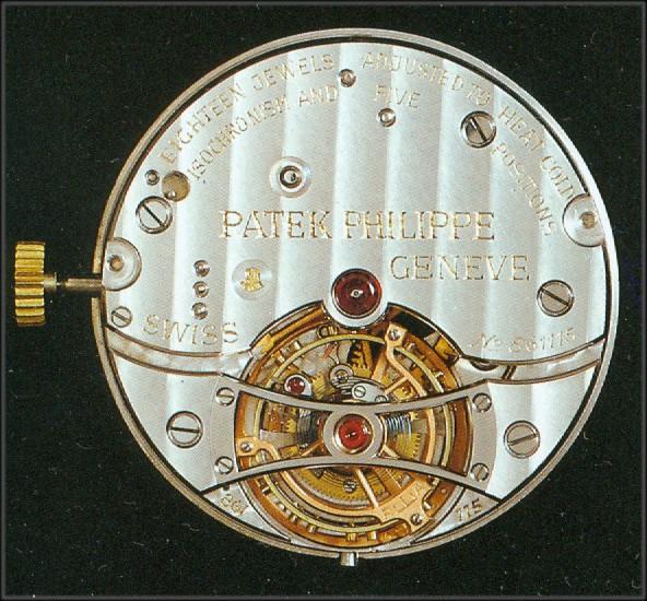 Patek Philippe 30 mm Observatoriumskaliber Tourbillon Nr 861115 VZ 1949 2
