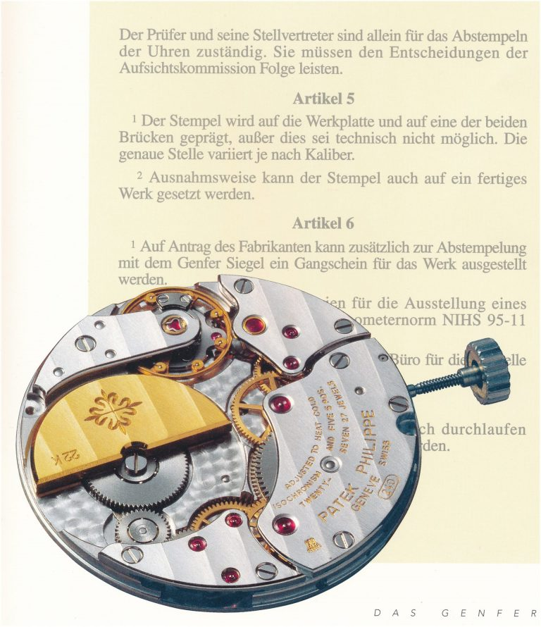 Patek Philippe Genfer Siegel alt - regelkonformes Automatikkaliber 240