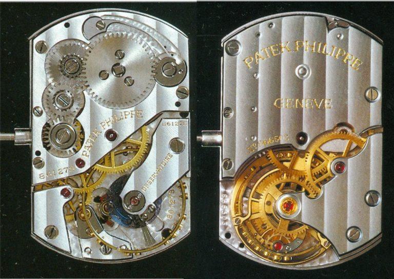 Patek Philippe Observationskaliber 702mm2 Tourbillong 34T Nr 866503