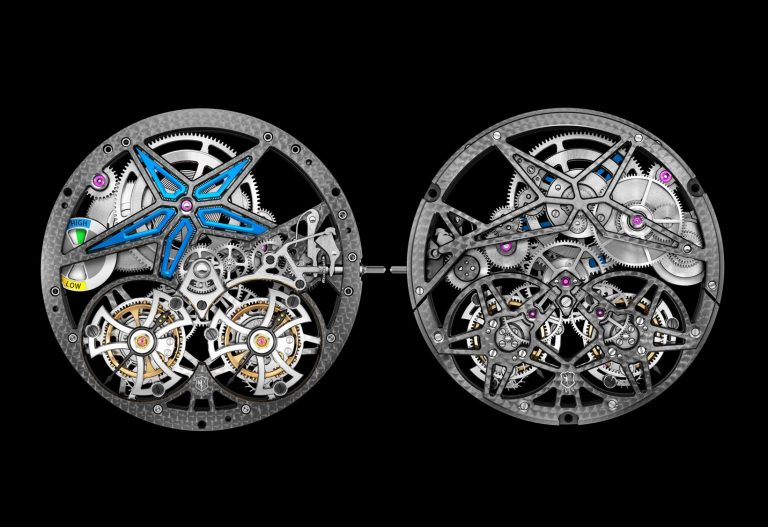 Roger Dubuis Excalibur Spider Pirelli 2017 RD105SQ Front Back