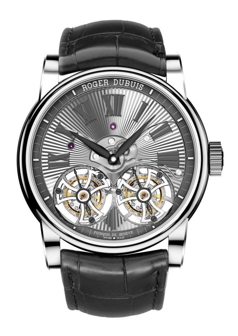 Roger Dubuis Hommage Double Flying Tourbillon 2014 Vorderseite
