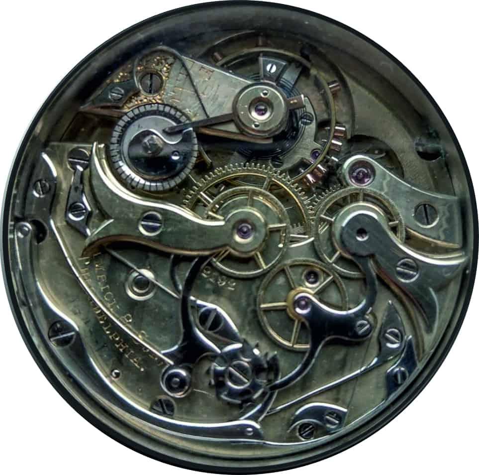 Sekunden Chronograph von 1880