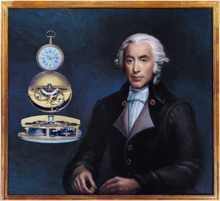 Abraham-Louis Perrelet mit seiner Rotor Automatik