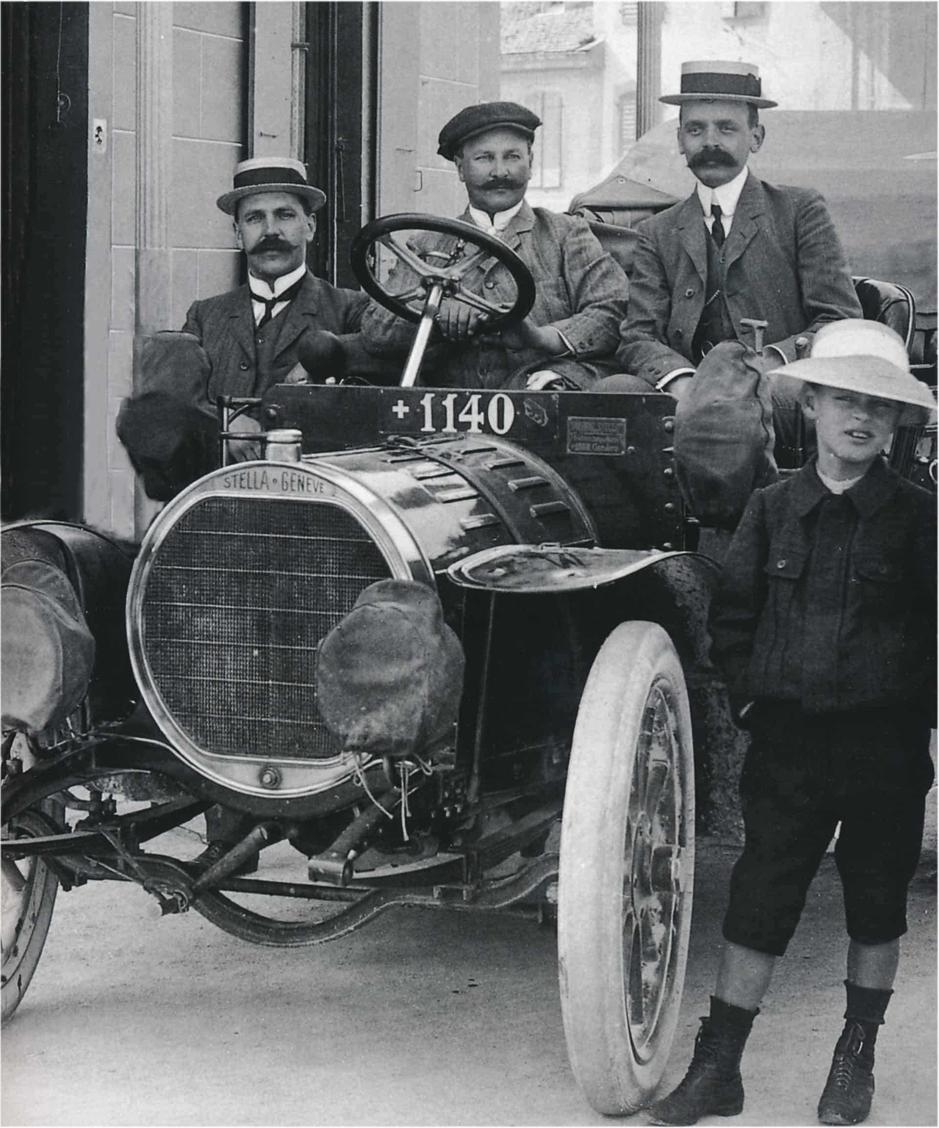Brueder Robert 1909 in Villeret