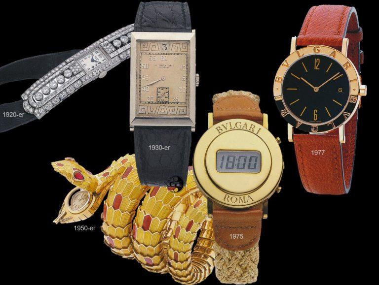 Bulgari Armbanduhren 1920er bis 1970er Jahre