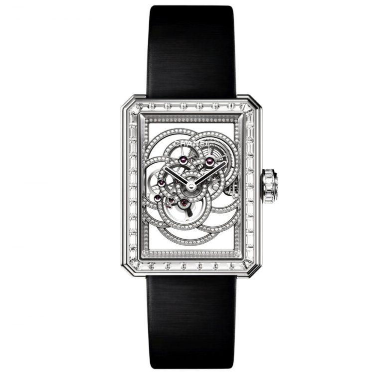 Chanel Première Camélia Skeleton 130 000 Euro