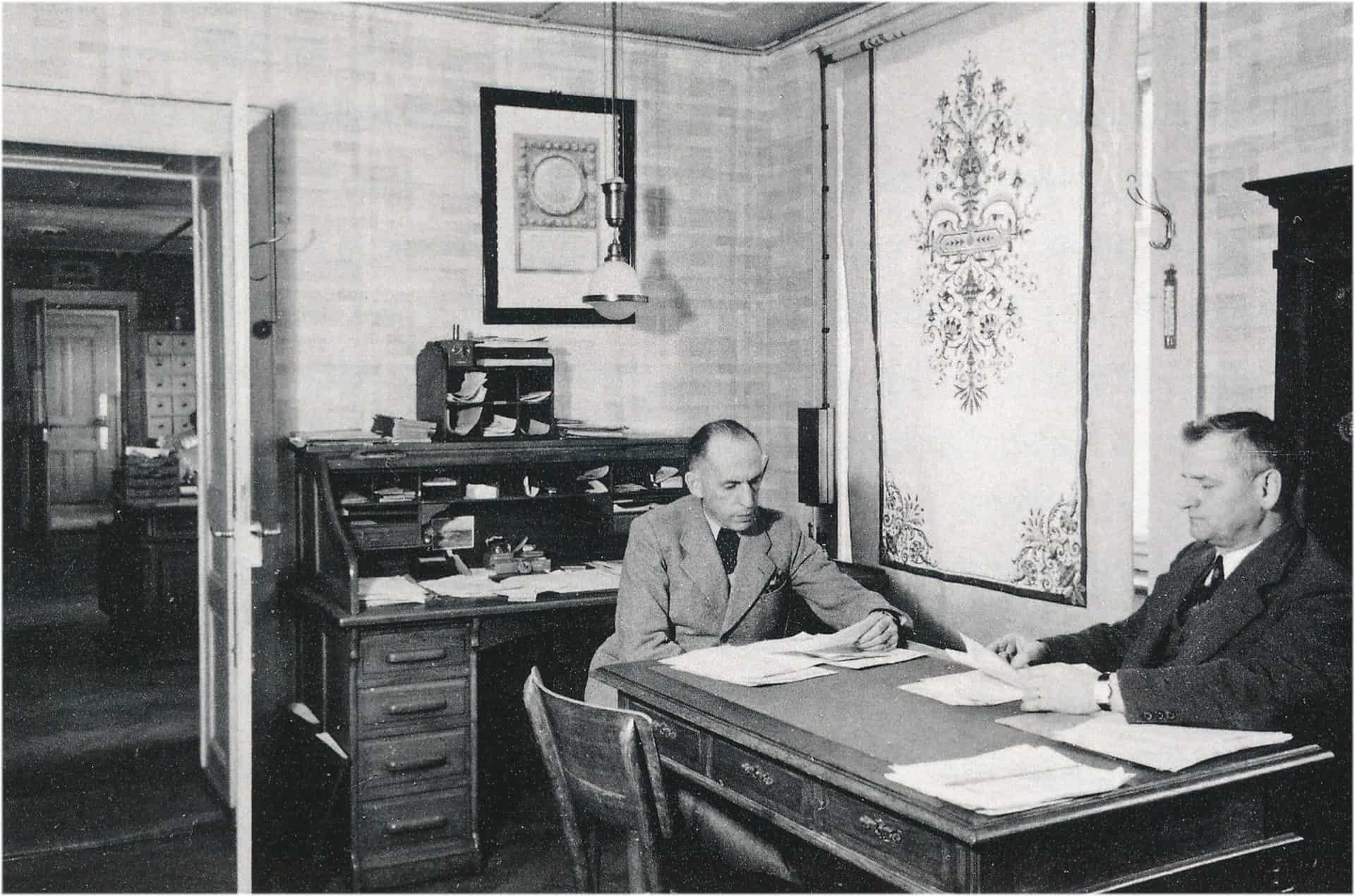 Historisches Photo von Charles Haussener und Jacques Pelot aus dem Jahr 1935
