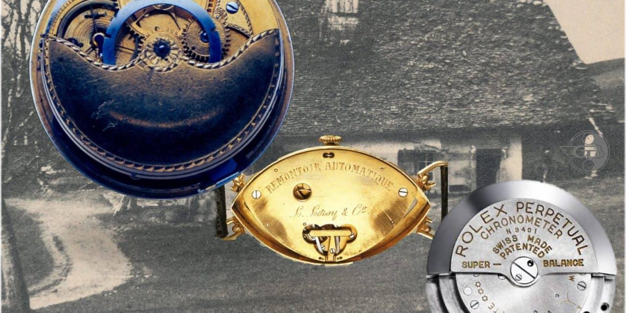 250 Jahre automatischer Aufzug: So entstand die heutige Automatikuhr