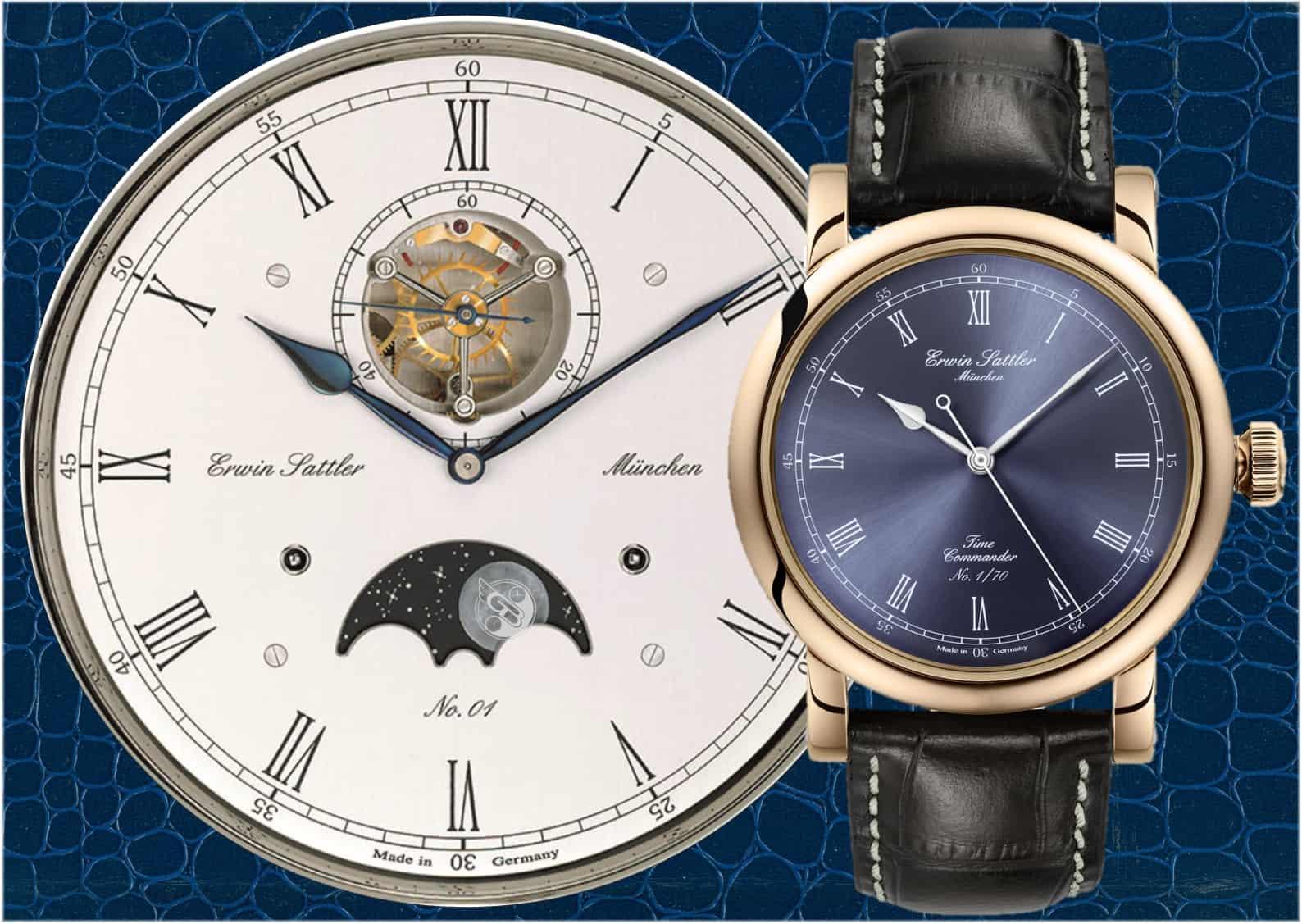 Erwin Sattler Time Commander Bronze III Uhr