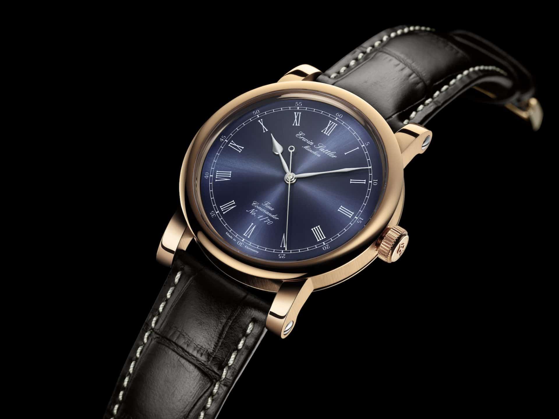 Bronzegehäuse des Erwin Sattler Time Commander Bronze Uhr III
