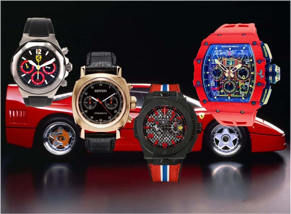 Ferrari Uhrenpartner Girard-Perregaux Panerai Hublot Richard Mille (C) GLB Uhrenkosmos