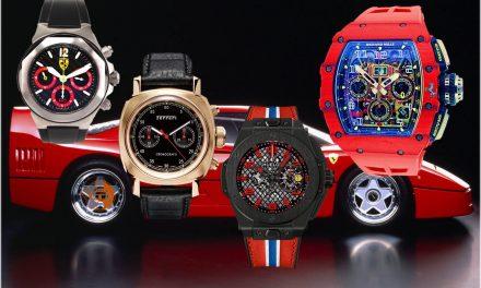 Ferrari und seine Uhren Partner: Girard-Perregaux, Panerai, Hublot und nun Richard Mille