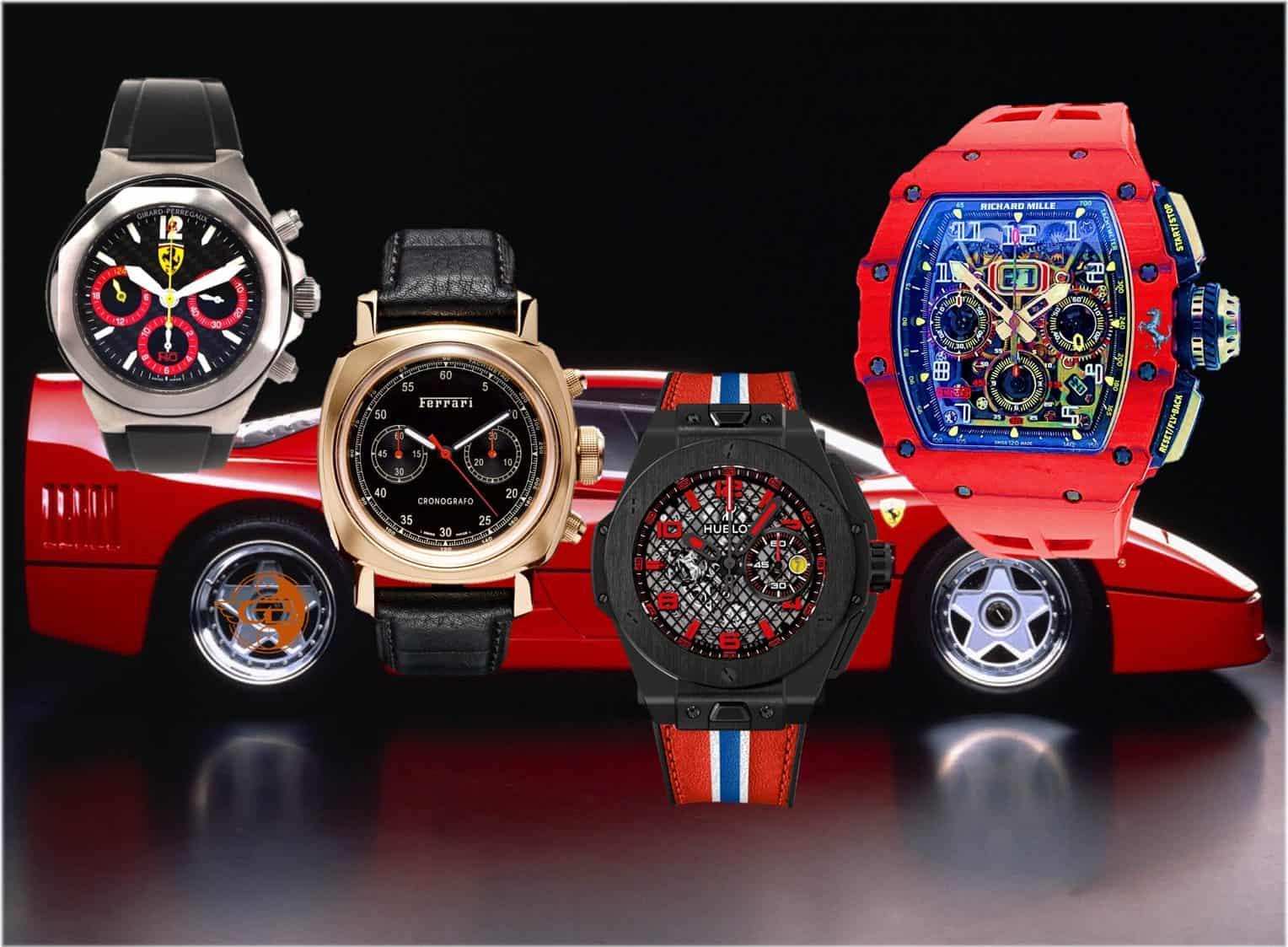 Kooperation Richard Mille FerrariFerrari und seine Uhren Partner: Girard-Perregaux, Panerai, Hublot und nun Richard Mille