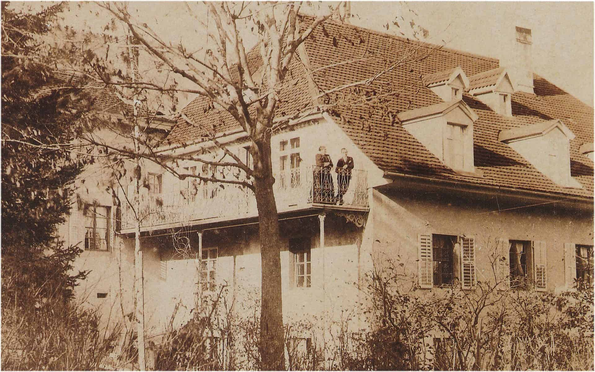 Das Gebäude der Familie Robert in Villeret