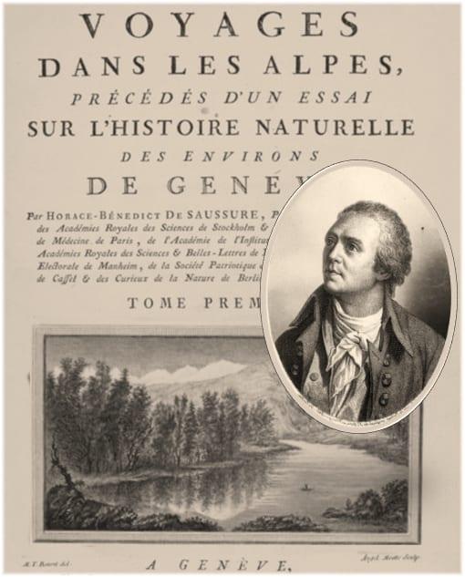 Professor Horace Benédict de Saussure