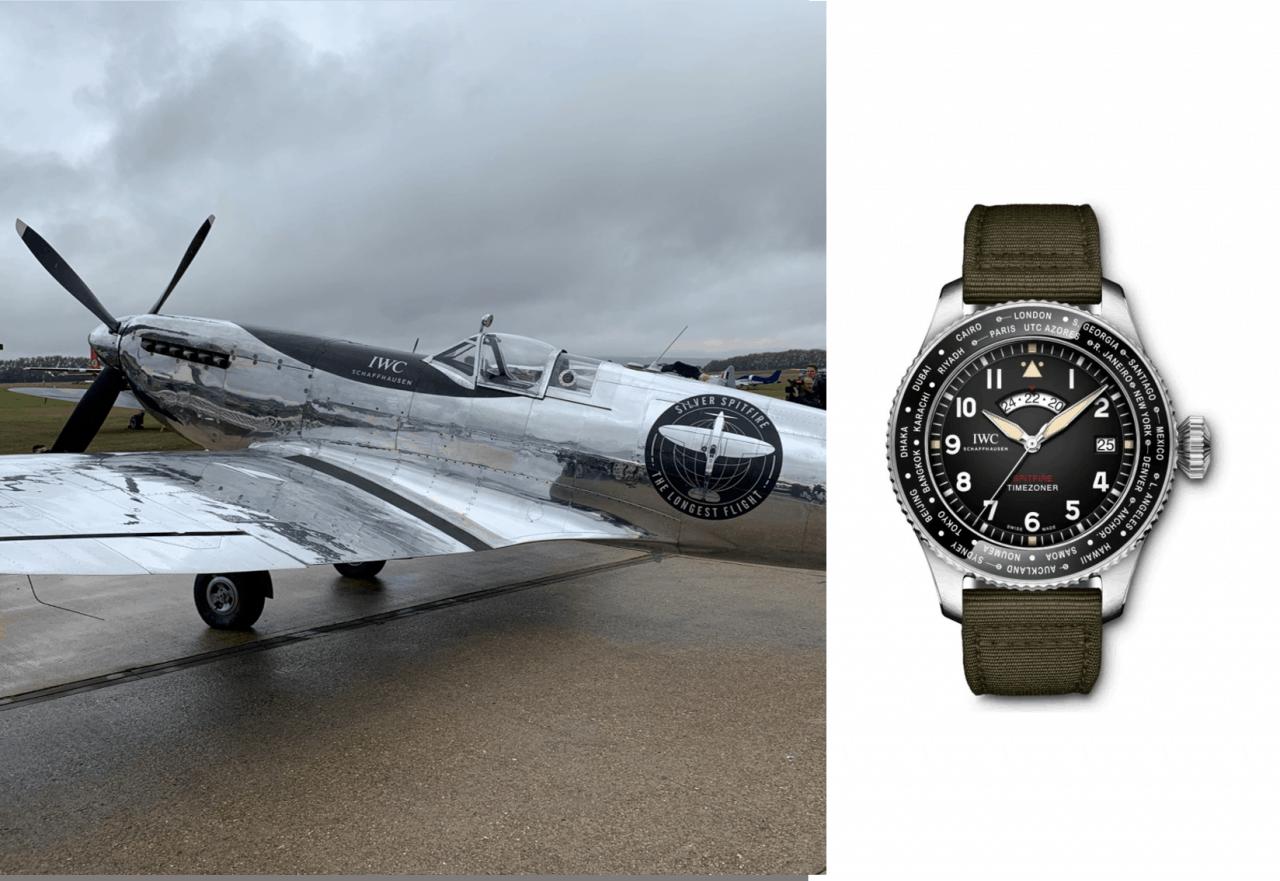 IWC PILOT'S WATCH TIMEZONER SPITFIRE EDITION «THE LONGEST FLIGHT»