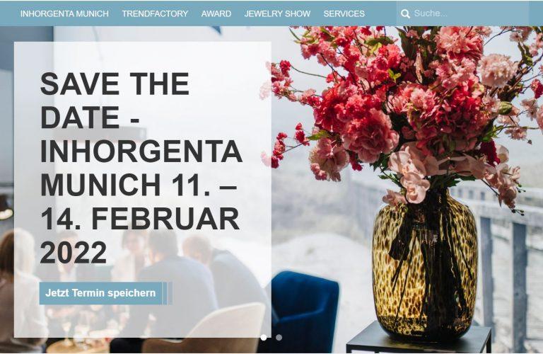 Inhorgenta Uhrenmesse vom 11. bis 14- Februar 2022