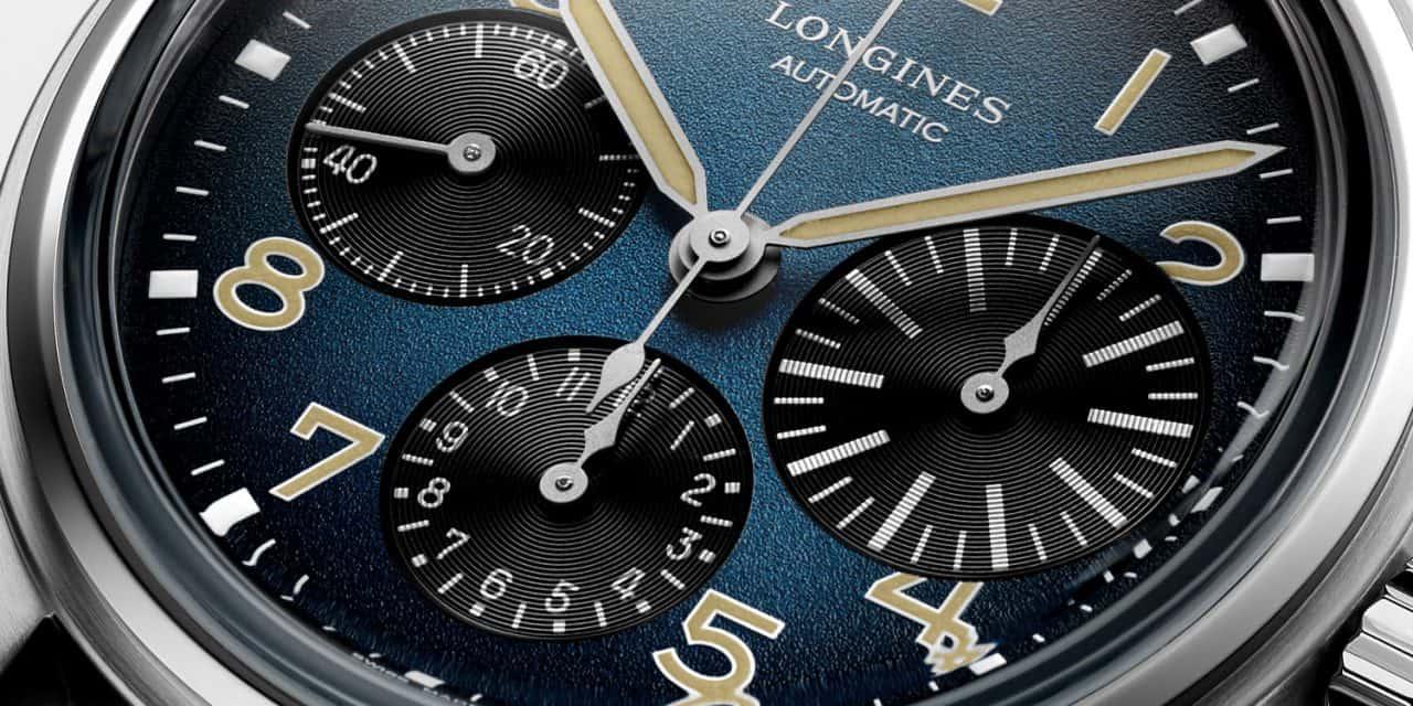 Longines Avigation BigEye Titanium: Ein Fliegerchronograph als Leichtgewicht