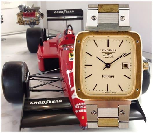 Longines Ferrari Quarzuhr der 1980er Jahre