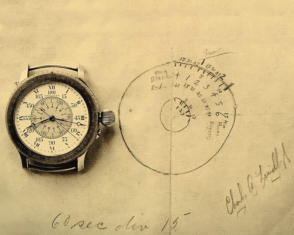 Longines Stundenwinkeluhr Charles Lindbergh