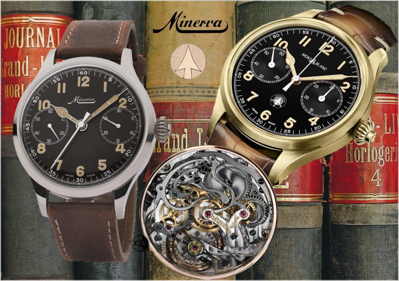 Montblanc 1858 Monopusher Chronograph Origins: Minervas Weg in die Zukunft