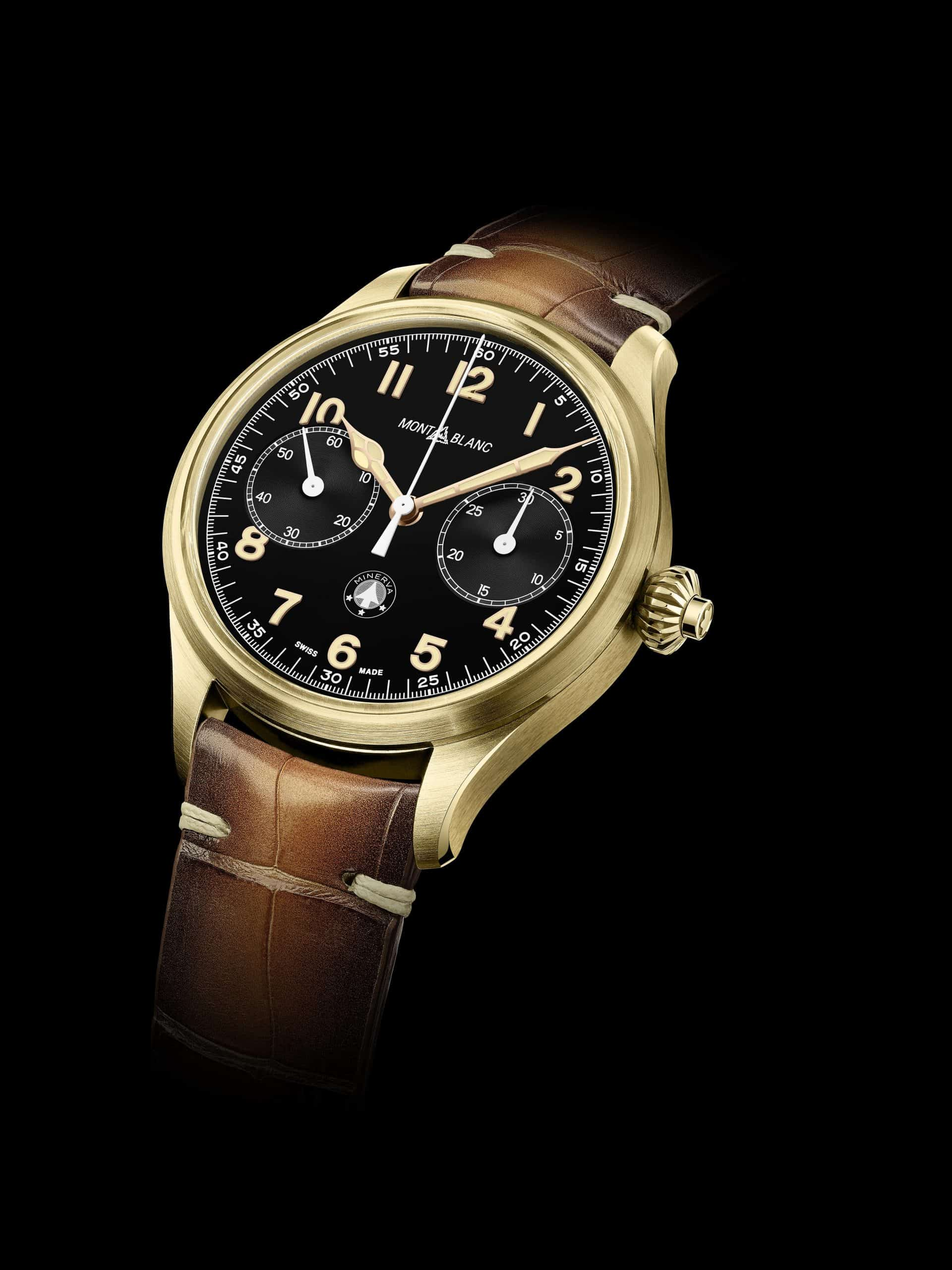 Montblanc 1858 Monopusher Chronograph Origins Limited Edition 100-min
