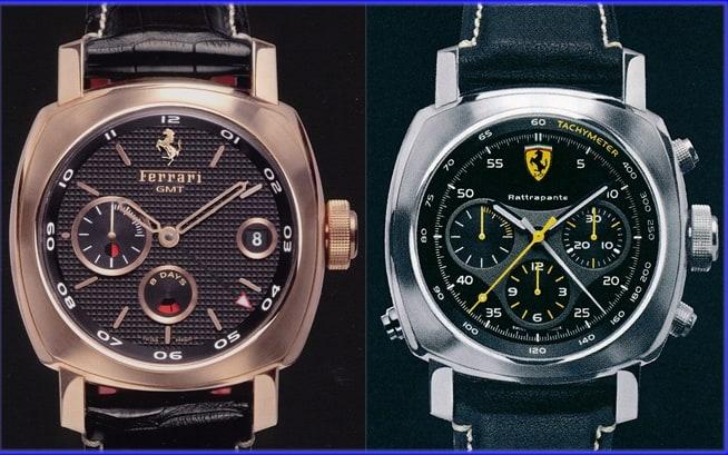 Panerai Ferrari FER00007 und 00010