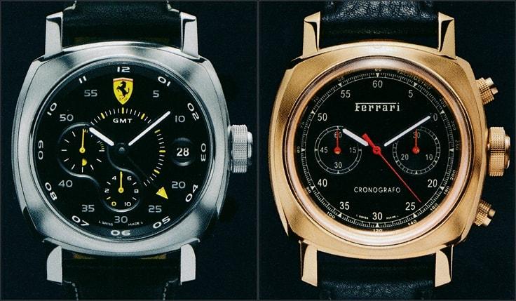 Panerai Ferrari Modelle FER00022 und FER00024