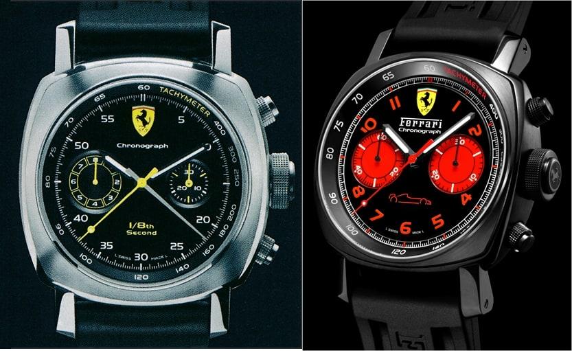 Panerai Ferrari FER00025 und FER00038