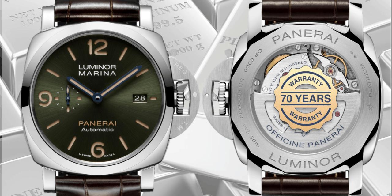 Panerai Platinumtech Luminor Marina – das sind doch glänzende Aussichten!