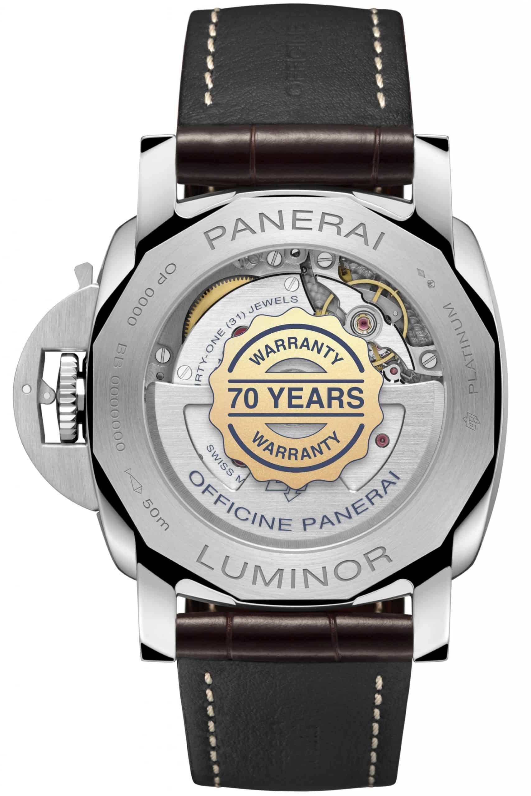 Platinumtech Luminor Marina 70 Jahre Garantie