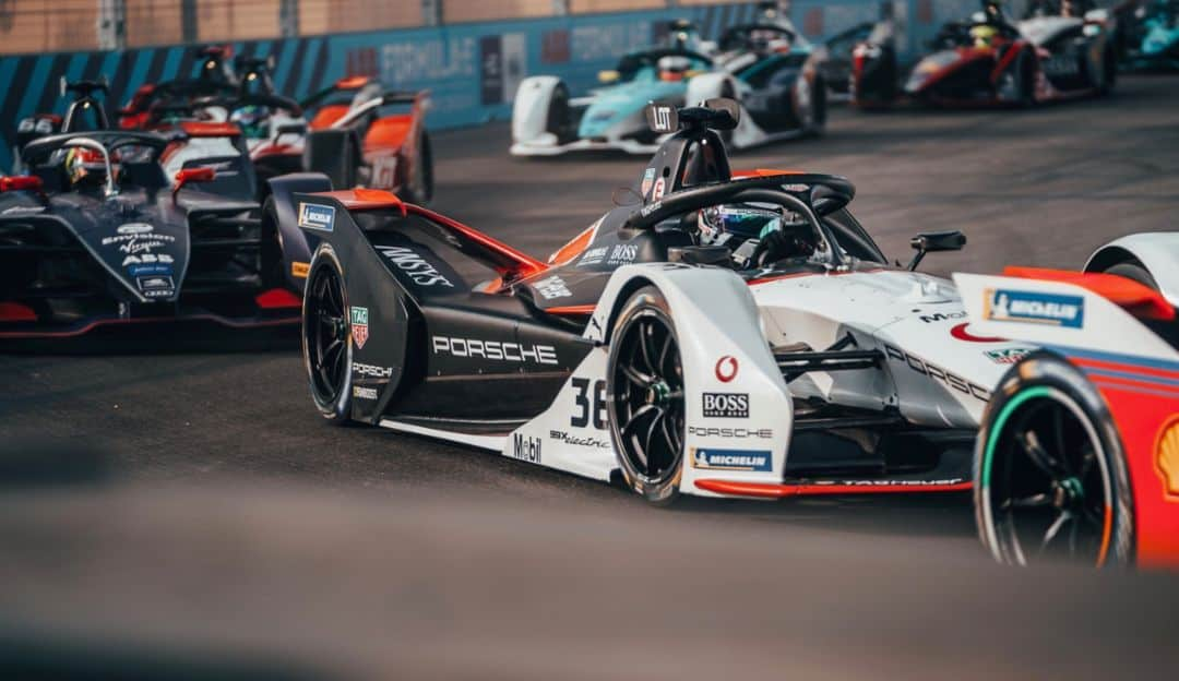 Porsche und TAG Heuer sind auch Partner in der FIA Formel-E: