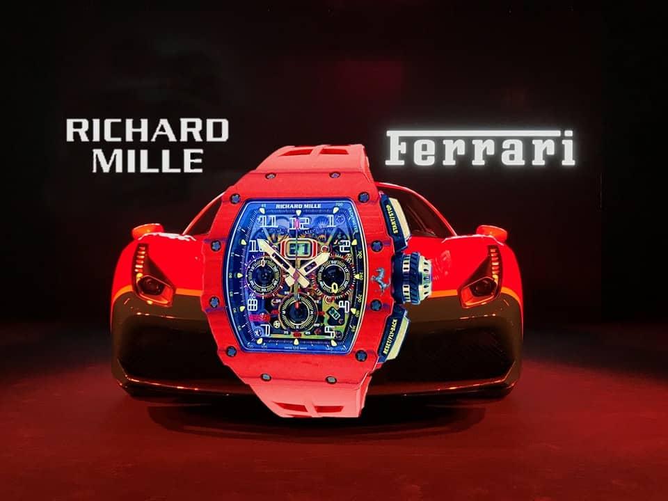 Uhrenpartner Richard Mille Ferrari