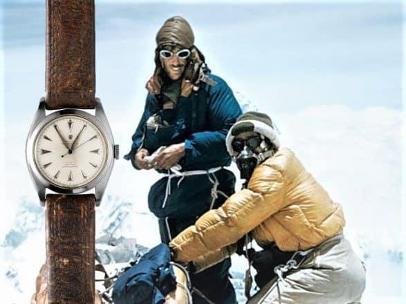 Die Rolex Oyster Perpetual, Edmund Hillary und der Mount Everest sorgten für den Aufstieg der Rolex Explorer