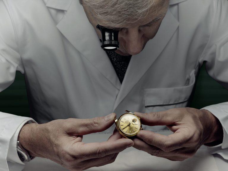 Rolex Kundendienst Kontrolle