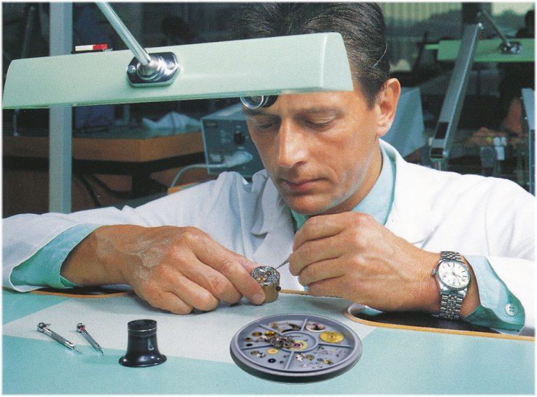 Werktisch Rolex Kundendienst