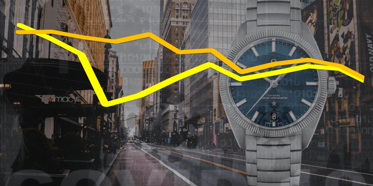 Uhrenindustrie Exporte 2020: So hart waren die Umsatzverluste!