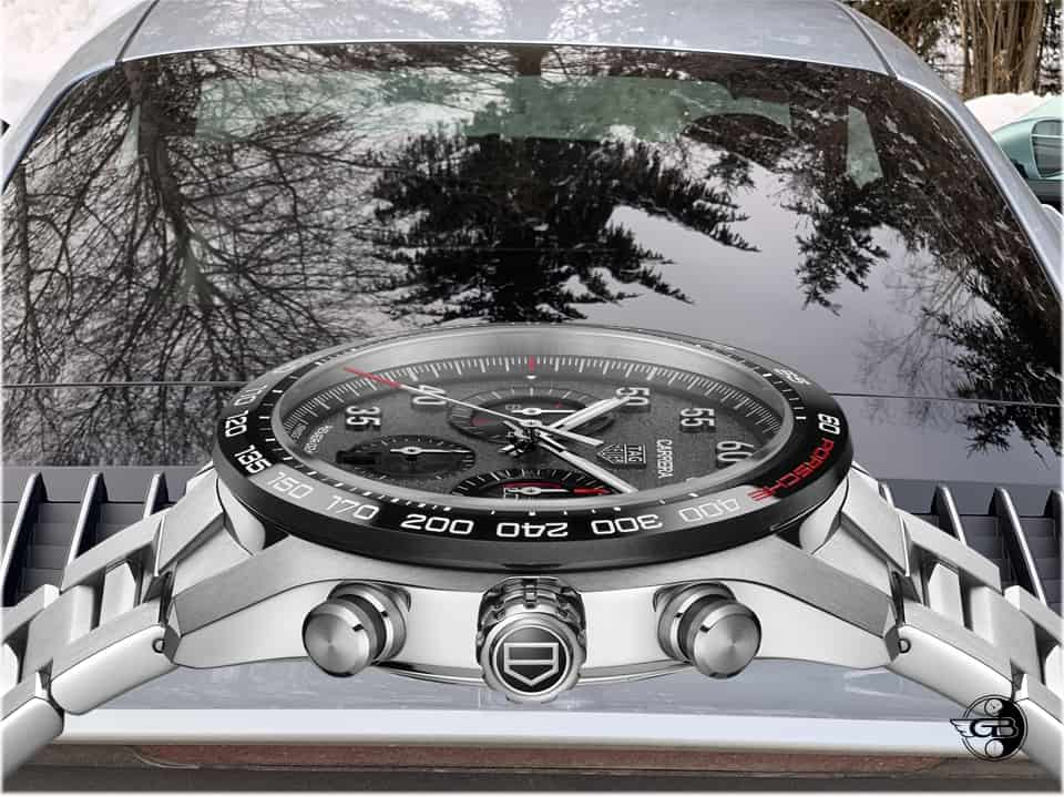 TAG Heuer Carrera Porsche Chronograph im Profil