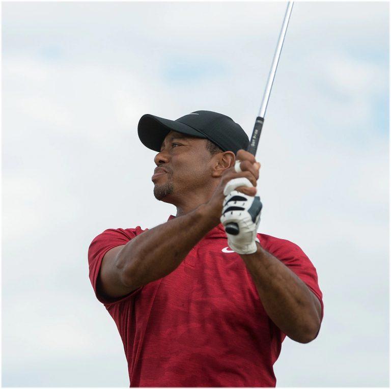 Tiger Woods Rolex Testimonial