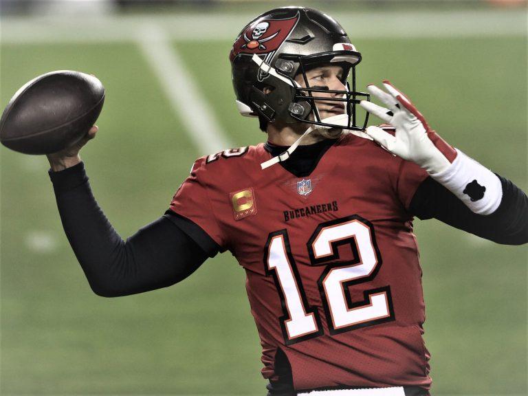 Tom Brady Quarterback Tampa Bay Buccaneers