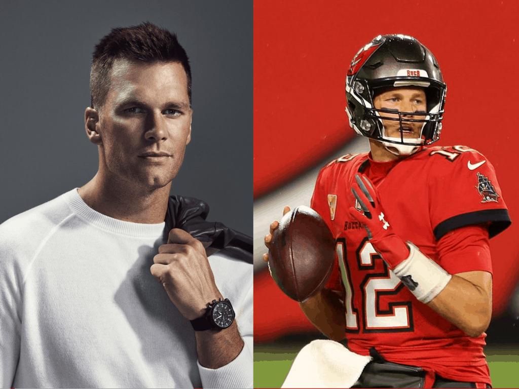 Quarterback Tom Brady mit IWC Uhr