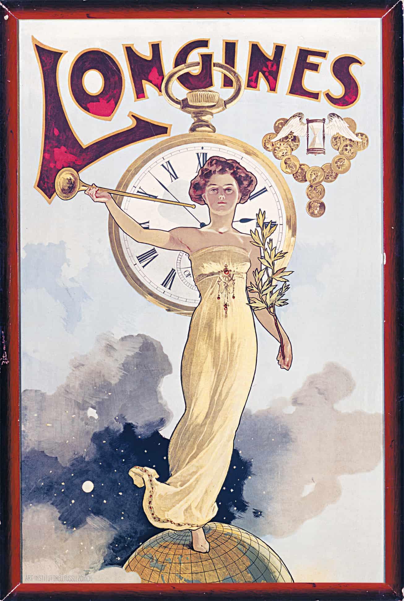 Historische Werbemotive Historische Werbemotive für Uhren: Das waren noch Zeiten!