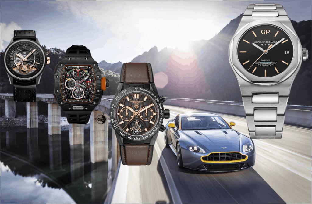 Aston-Martin Uhrenpartner Jaeger-LeCoultre Richard Mille TAG-Heuer Girard-Perregaux