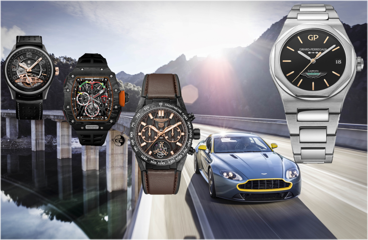 Aston Martin Uhrenpartner: Jaeger-LeCoultre, Richard Mille, TAG Heuer und nun Girard-Perregaux