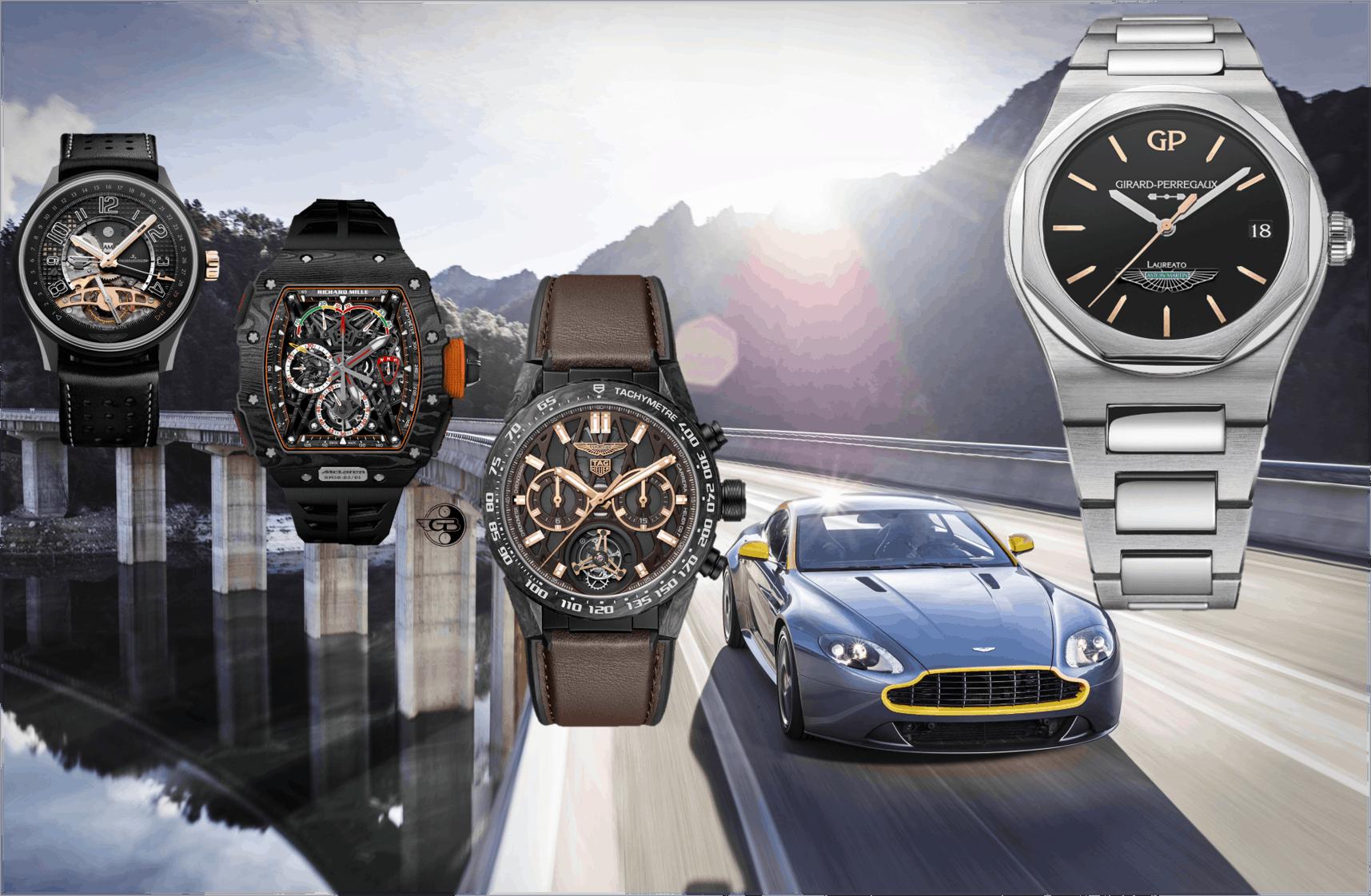 Aston Martin-Girard-PerregauxAston Martin Uhrenpartner: Jaeger-LeCoultre, Richard Mille, TAG Heuer und nun Girard-Perregaux