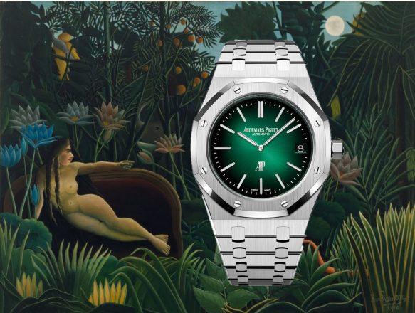 Audemars Piguet Royal Oak Jumbo: Grün ist die Hoffnung