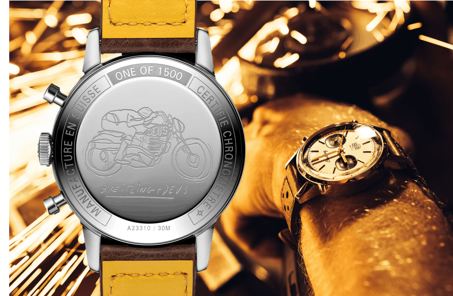 Breitling Top Time Deus Limited Edition Chronograph