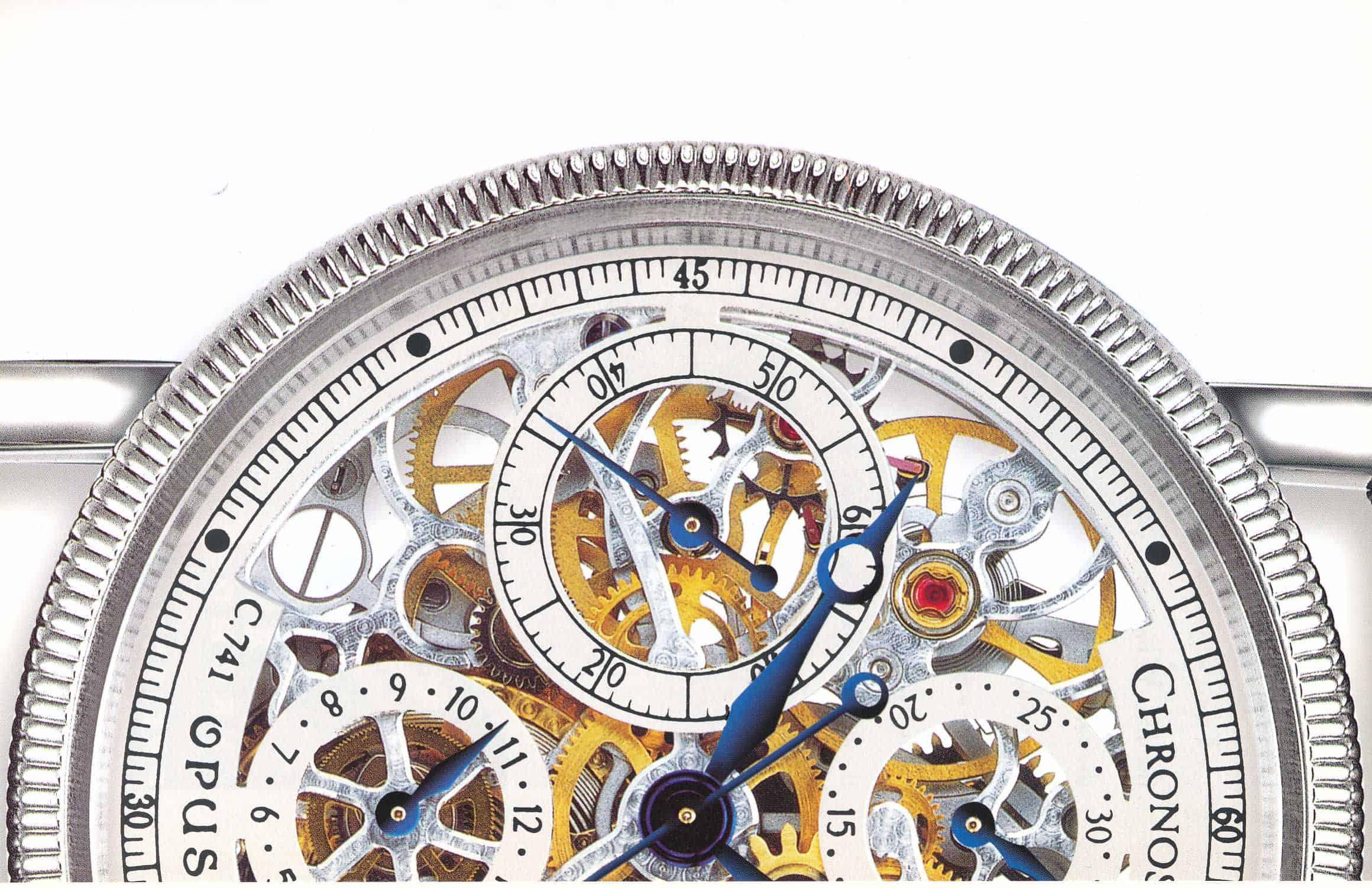 Historischer Chronograph Chronoswiss Opus Referenz 7523
