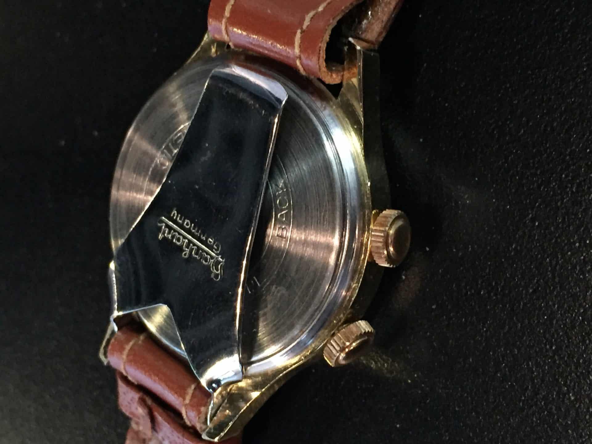 Hanhart Armbandwecker Alarm Kaliber 302 1950-er Jahre